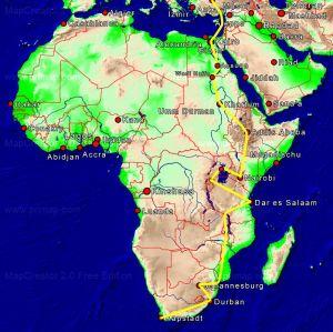 Unser Weg durch Afrika